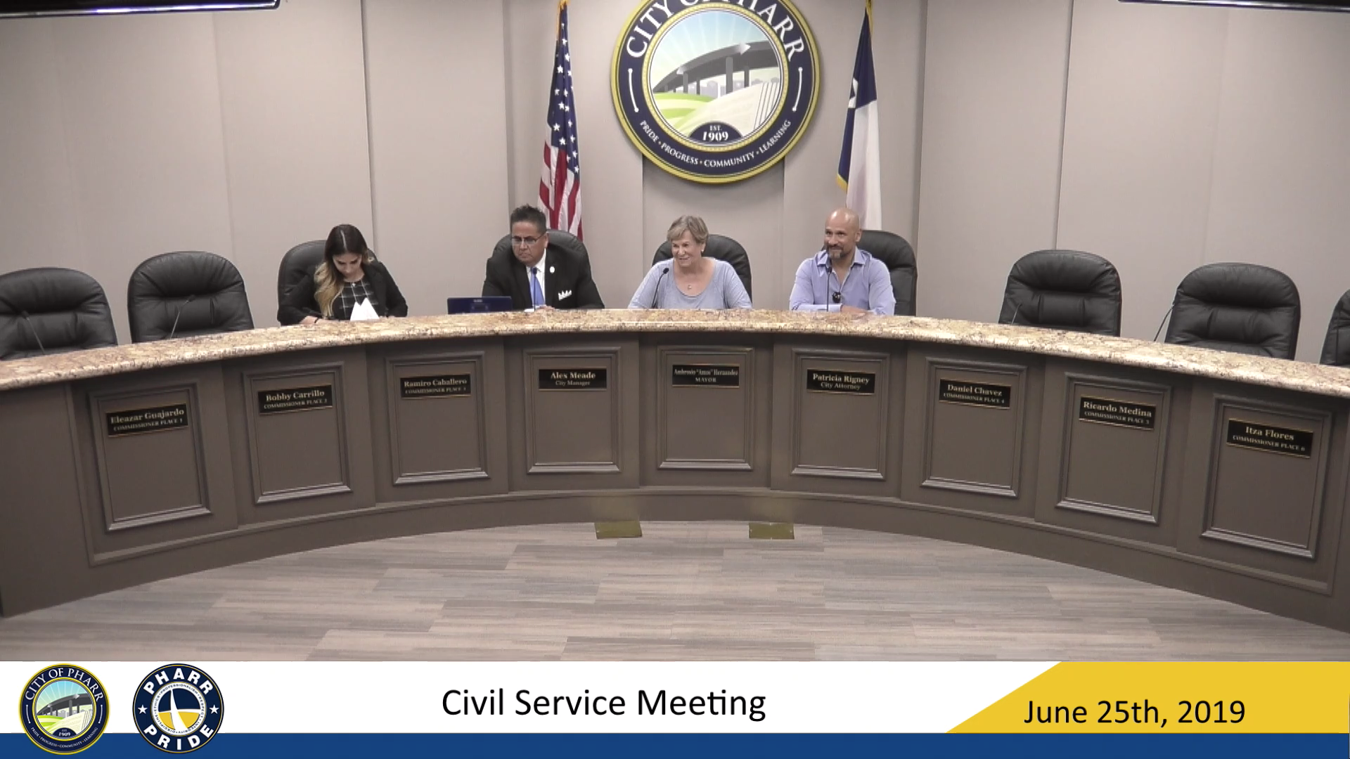 Civil Service Board Meeting – June 25th, 2019